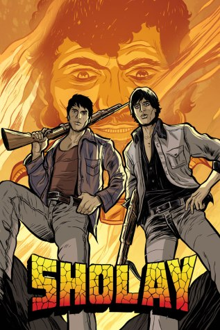 Sholay The Graphic Novel